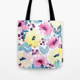 Tropical Poppies Tote Bag