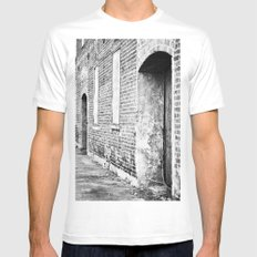 Oxford Abandoned Mens Fitted Tee White MEDIUM