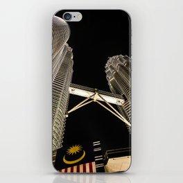 Petronas Twin Towers iPhone Skin