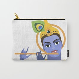 lord Vishnu Krishna Carry-All Pouch