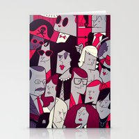rocky horror Stationery Cards featuring The Rocky Horror Picture Show by Ale Giorgini
