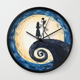 Jack Skellington & Sally Wall Clock