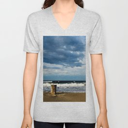 Pacific coast, Chiapas, Mexico Unisex V-Neck