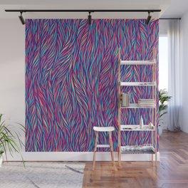 Color Fur Wall Mural