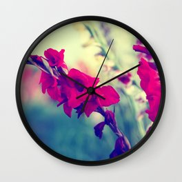 Design by Flowers Wall Clock