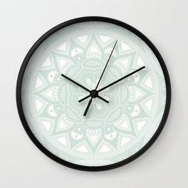 Mandala my new creation XLI Wall Clock
