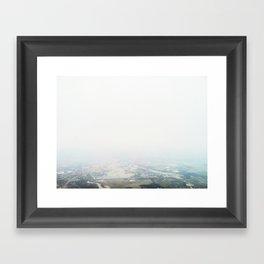 Flying Over Pennsylvania Framed Art Print
