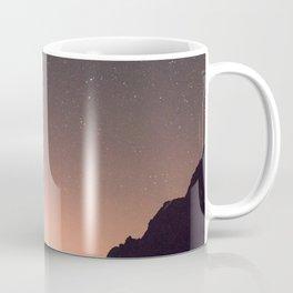 Mountain Lake Landscape with Shooting Star Coffee Mug