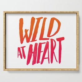 Wild At Heart x Typography Flame Ombre Serving Tray