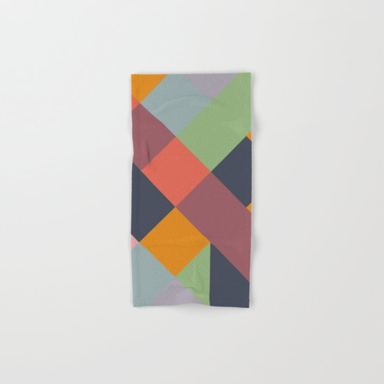 GEOMETRIC PATTERN 733 Hand & Bath Towel
