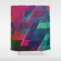 let it go Shower Curtains featuring let go by Spires