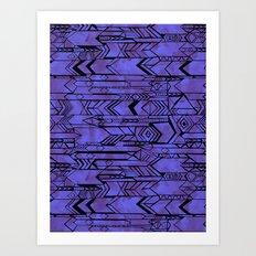 Kama'aina Purple Art Print