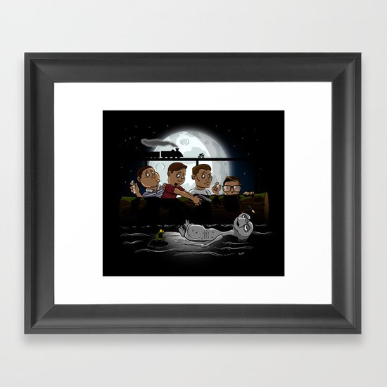 Stand By E.T. Framed Art Print