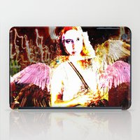angels iPad Cases featuring Angels by Maya Kechevski