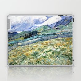 Landscape from Saint-Remy by Vincent van Gogh Laptop & iPad Skin