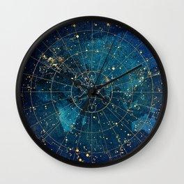 21dd8f8dc165 Star Map    City Lights Wall Clock