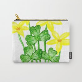 Shamrock Garden Carry-All Pouch