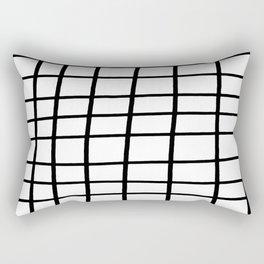 Hand Grid Large Rectangular Pillow