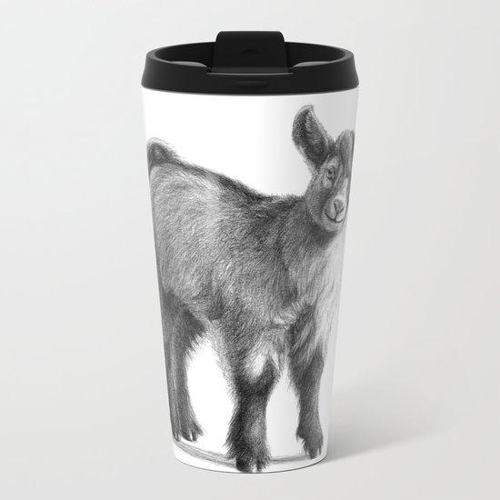 Goat baby G097 Metal Travel Mug