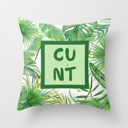 Tastefully Offensive Throw Pillow
