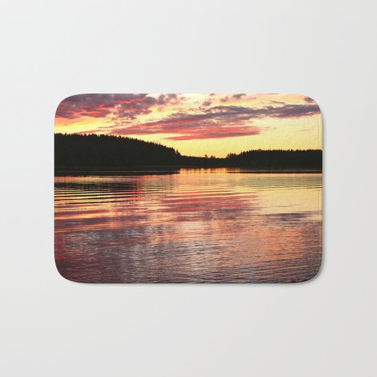 Summer Evening  Bath Mat