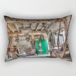 New Hall Water Mill Rectangular Pillow