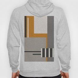 PLUGGED INTO LIFE (abstract geometric) Hoody