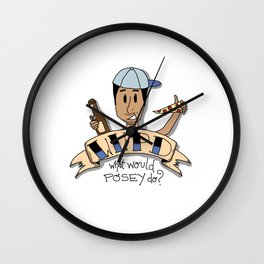 What Would Posey Do? Wall Clock