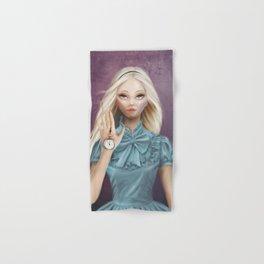 Alice - Cameo Portrait Hand & Bath Towel