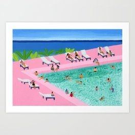 Seaview Art Print