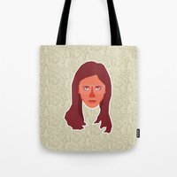 buffy Tote Bags featuring Buffy Summers - Buffy the Vampire Slayer by Kuki