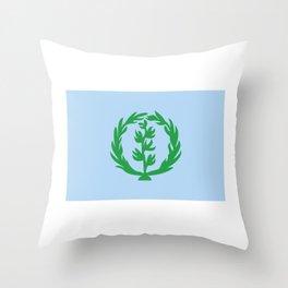 Eritrea Flag Habesha Gift Idea Anti Isaias product Throw Pillow