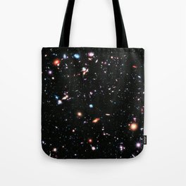 eXtreme Deep Field, Galaxy Background, Universe Large Print, Space Wall Art Decor, Deep Space Poster Tote Bag
