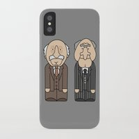 muppets iPhone & iPod Cases featuring Statler & Waldorf – The Muppets by Big Purple Glasses