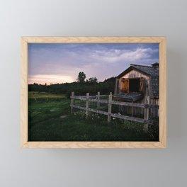 The Shed Framed Mini Art Print