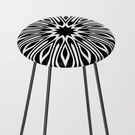 Black and White | Leyana series 3 Counter Stool