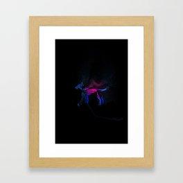 Doberman Ghost Framed Art Print
