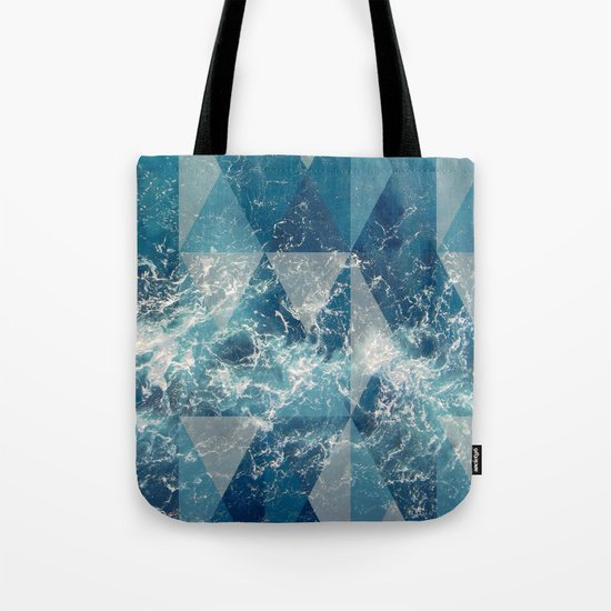 Geometric sea Tote Bag