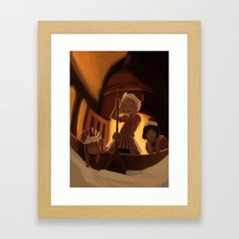 Evil in the Oven Framed Art Print