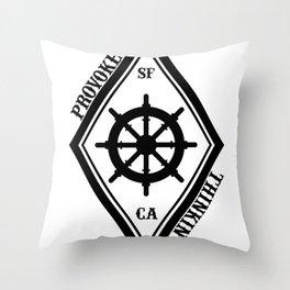 Provoke Thinking Logo Throw Pillow