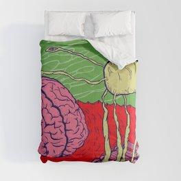 Bug in the brain Comforters