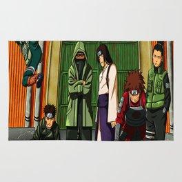 ninja konoha Rug
