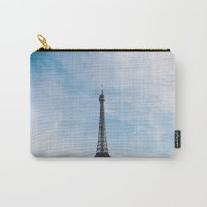 Blue Skies in Paris Carry-All Pouch