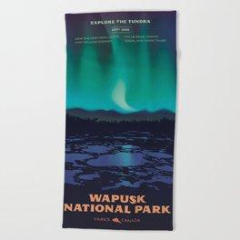 Wapusk National Park Poster Beach Towel