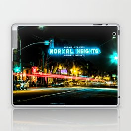 Normal Heights (San Diego) Sign - SD Signs Series #2 Laptop & iPad Skin