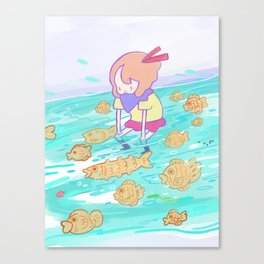 Taiyaki Dream Canvas Print
