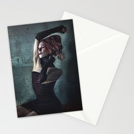 Grunge Moll Stationery Cards