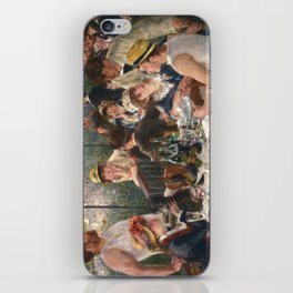 Luncheon of the Boating Party by Renoir iPhone Skin