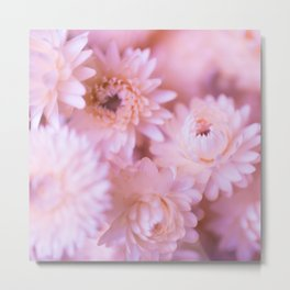 Lovely bouquet of pink flowers Metal Print
