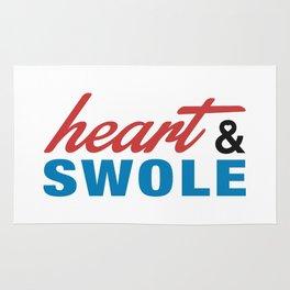 Heart & Swole Rug
